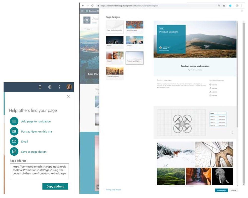Pagina designs
